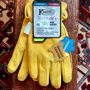 KINCO NEW! Leather Thermal Lined Driver Glove